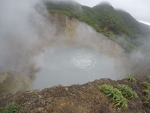 Boiling Lake - Image: Dominica Boiling Lake