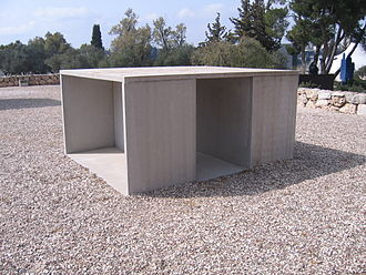 Minimalism (visual arts) - Donald Judd, Untitled, 1991, Israel Museum Art Garden, Jerusalem.