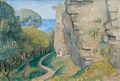 Dorothea Maetzel-Johannsen Visby An der Ringmauer II.jpg