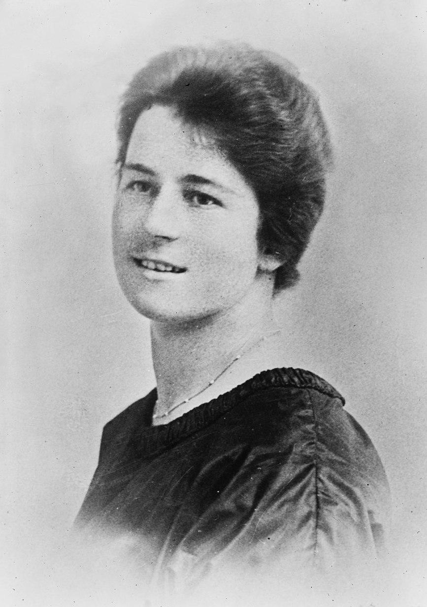Dorothy Maud Wrinch 1921