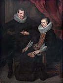 Double portrait of a married couple, by Cornelis de Vos.jpg