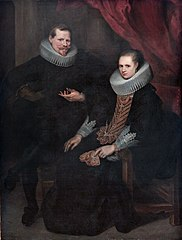 Double portrait of a married couple