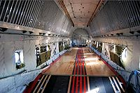 Douglas C-124A cargo deck