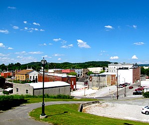Sparta, Tennessee - Sparta's business district