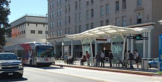 SbX - Image: Downtown SB North Station