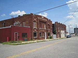 Pinch District, Memphis - Image: Downtown N Main St Memphis TN 2012 07 17 012