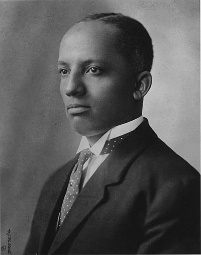 Carter G. Woodson, African-American historian, writer, and journalist