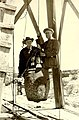 Dr. Willis T. Lee of the National Geographic Society and Stephen T. Mather preparing to descend into Carlsbad Caverns, Carlsbad (5e804c932abe40ef99c078bdf02e0e2f).jpg