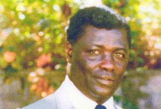 Premier of Nevis - Image: Dr. the Hon Simeon Daniel, first Premier of Nevis