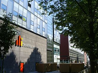 Dramatiska Institutet - The Dramatiska Institutet building in Östermalm