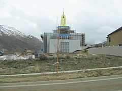 Draper utah Temple in March 2008.JPG