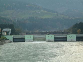 Dravograd - Hydroelectric power plant in Dravograd