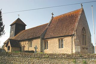 village and civil parish in South Oxfordshire, England