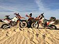 Drei Rallybikes.jpg