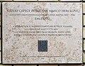 Duchess of San Marco plaque (Budapest-03 San Marco u 48-50).jpg
