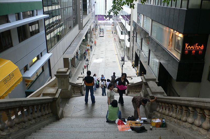 File:Duddell Street Steps (facing north).JPG