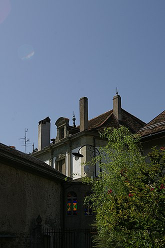 Dully - Image: Dully château