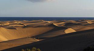 Dune di Maspalomas sull'isola di Gran Canaria, Spagna