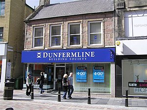 Dunfermline Building Society - A branch of the Dunfermline in Inverness