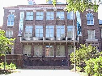Durham High School (North Carolina) - Durham High School, now the main building at Durham School of the Arts