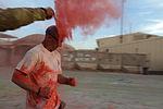 Dustoff Splash Dash 5K brings color to runners in Helmand province 140421-M-JD595-914.jpg