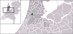 Location of Halfweg