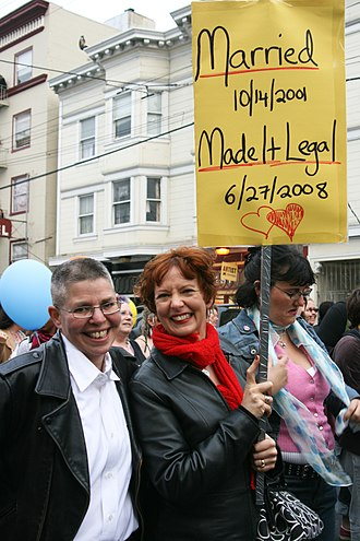 Dyke March - San Francisco Dyke March, June 2008