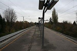 Dyssegård station - Image: Dyssegaard Station 8