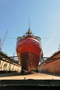 ELBE1 - Bürgermeister O'Swald (ship, 1948) 2012 05-by-RaBoe 17.jpg