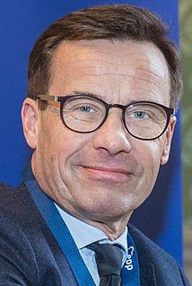 Ulf Kristersson Swedish politician