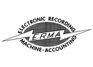 Electronic Recording Machine, Accounting - The ERMA logo