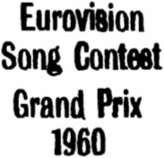 Eurovision Song Contest 1960 - Image: ESC 1960 Logo