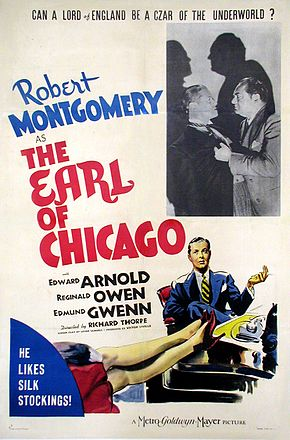 Description de l'image Earl of Chicago poster.jpg.