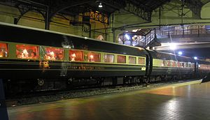 Lists of named passenger trains - The Eastern & Oriental Express, a named passenger train between Thailand, Malaysia and Singapore.