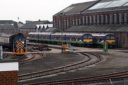 Eastleigh railway works Eastleigh railway works.jpg