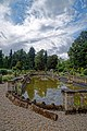 Easton Lodge Gardens, Little Easton, Essex, England ~ ornamental pool 02.jpg