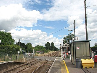 Eccles Road railway station