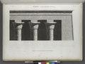 Edfou (Idfû) (Apollinopolis Magna). Détails d'architecture du Grand Temple (NYPL b14212718-1267885).tiff