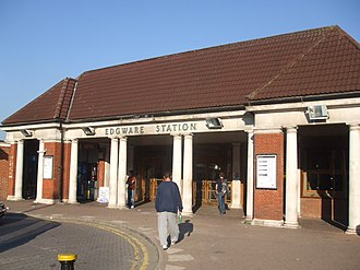 Edgware tube station - Image: Edgware station building