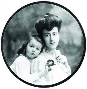Edith Stuyvesant Gerry - Edith and her daughter, Cornelia, ca. 1902