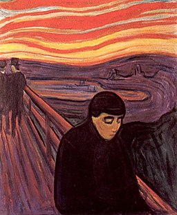 Edvard Munch - Despair (1894)