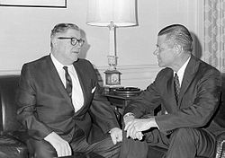 Edward J. Patten meeting with Robert McNamara, August 1965.JPEG