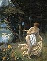 Edward Robert Hughes - Diana's Maidens, 1898.jpg