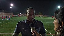 Edwin Congo, at an interview.jpg
