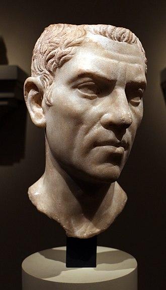 Cornelius Gallus - Image: Egitto romano, testa forse di g. cornelio gallo, 30 ac ca