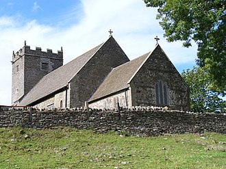 Eglwysilan - The Church at Eglwysilan