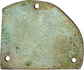 Egyptian - Plaque with a Jackal Shaped Anubis - Walters 481635 - Reverse.jpg