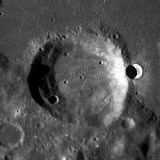 Eimmart (crater) impact crater