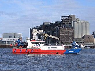 """Police watercraft - Image: Einsatzboot """"Bremen 1"""""""