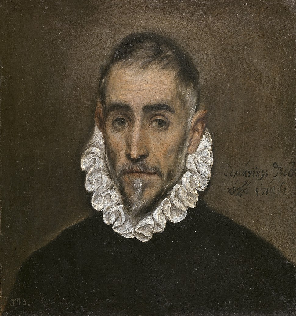 Retrato dun cabaleiro ancián (1587-1600).